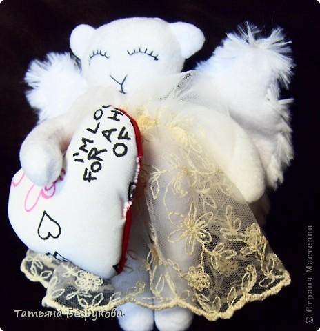 Игрушка Шитьё: Дежурный ангел. Ткань Отдых. Фото 2