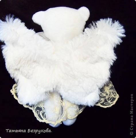 Игрушка Шитьё: Дежурный ангел. Ткань Отдых. Фото 4