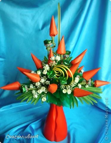 Мастер-класс, Свит-дизайн: Конусы для свит-дизайна Бумага 8 марта, День рождения, Новый год. Фото 12