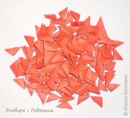Ажурное Схема оригами пожарник