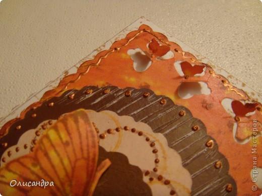 """МК по закладкам   <a href=""""http://scraphouse.ru/masterclass/flowers-and-decorations/beautiful-bookmarks-for-book.html"""" title=""""http://scraphouse.ru/masterclass/flowers-and-decorations/beautiful-bookmarks-for-book.html"""">http://scraphouse.ru/masterclass/flowers-and-decorations/beautiful-bookm...</a> Внизу еще несколько полезных ссылок... ************************************************************************************************************** Тема бабочек, которую я начала в открытках, неисчерпаема... <a href=""""http://stranamasterov.ru/node/401329"""" title=""""http://stranamasterov.ru/node/401329"""">http://stranamasterov.ru/node/401329</a> <a href=""""http://stranamasterov.ru/node/404588"""" title=""""http://stranamasterov.ru/node/404588"""">http://stranamasterov.ru/node/404588</a> <a href=""""http://stranamasterov.ru/node/428247"""" title=""""http://stranamasterov.ru/node/428247"""">http://stranamasterov.ru/node/428247</a>  Поэтому решила продолжить """"эксплуатацию этих красивых насекомых"""" и в закладочках тоже... Несмотря на то, что мое скрап-увлечение постепенно """"обрастает"""" необходимыми материалами и инструментами, продолжаю экспериментировать также и  с бросовыми материалами и подручными инструментами... . Фото 5"""