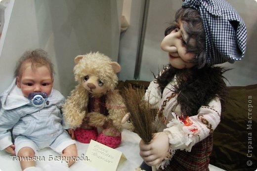Фоторепортаж: VIII Международный Салон Кукол состоится в Москве на Тишинке с 4 по 7 октября 2012г. Часть 1.. Фото 5