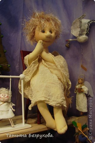 Фоторепортаж: VIII Международный Салон Кукол состоится в Москве на Тишинке с 4 по 7 октября 2012г. Часть 1.. Фото 9