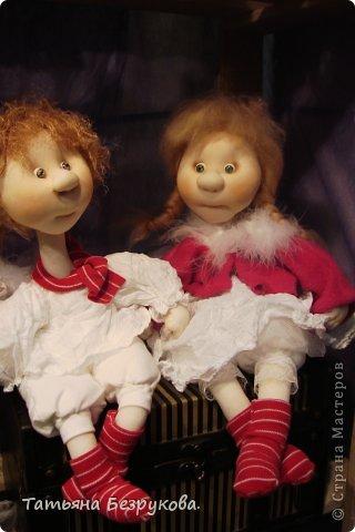 Фоторепортаж: VIII Международный Салон Кукол состоится в Москве на Тишинке с 4 по 7 октября 2012г. Часть 1.. Фото 10