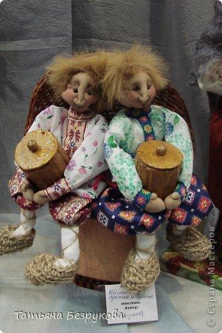 Фоторепортаж: VIII Международный Салон Кукол состоится в Москве на Тишинке с 4 по 7 октября 2012г. Часть 1.. Фото 15