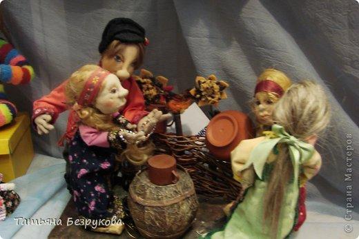 Фоторепортаж: VIII Международный Салон Кукол состоится в Москве на Тишинке с 4 по 7 октября 2012г. Часть 1.. Фото 17