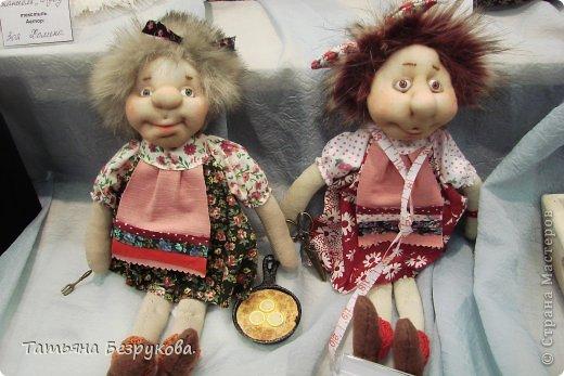Фоторепортаж: VIII Международный Салон Кукол состоится в Москве на Тишинке с 4 по 7 октября 2012г. Часть 1.. Фото 20