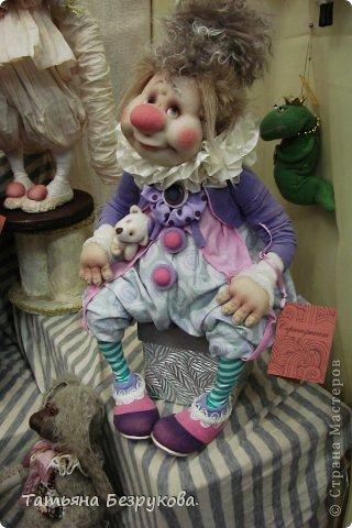 Фоторепортаж: VIII Международный Салон Кукол состоится в Москве на Тишинке с 4 по 7 октября 2012г. Часть 1.. Фото 26