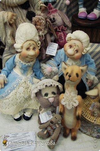 Фоторепортаж: VIII Международный Салон Кукол состоится в Москве на Тишинке с 4 по 7 октября 2012г. Часть 1.. Фото 28