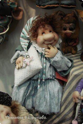 Фоторепортаж: VIII Международный Салон Кукол состоится в Москве на Тишинке с 4 по 7 октября 2012г. Часть 1.. Фото 30