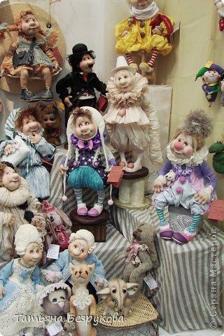 Фоторепортаж: VIII Международный Салон Кукол состоится в Москве на Тишинке с 4 по 7 октября 2012г. Часть 1.. Фото 37