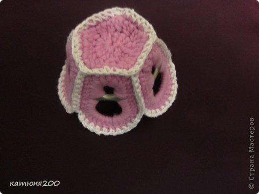 Мастер-класс Вязание крючком: Подставки для пасхальных яиц и ещё чуть-чуть!!! Материал бросовый Пасха. Фото 6