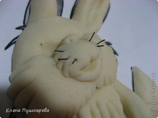 Мастер-класс Лепка: МК Зайчик Тесто соленое Валентинов день. Фото 17