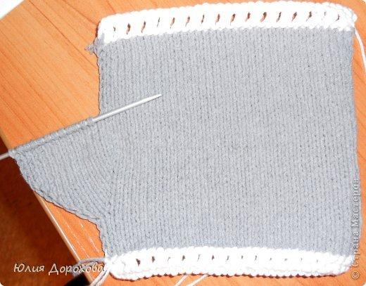 Гардероб, Мастер-класс Вязание спицами: Митенки на двух спицах Пряжа. Фото 6