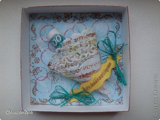 """Здравствуйте, мои дорогие! Сегодня хочу показать Вам коробочку для денежного подарка.   Первый раз делала на свадьбу     <a href=""""http://stranamasterov.ru/node/286226?t=1398"""" title=""""http://stranamasterov.ru/node/286226?t=1398"""">http://stranamasterov.ru/node/286226?t=1398</a>, а сейчас на день рождения.  Автор очень хорошего МК - Ми-На ...   <a href=""""http://mu-ha.blogspot.com/2009/09/blog-post_11.html"""" title=""""http://mu-ha.blogspot.com/2009/09/blog-post_11.html"""">http://mu-ha.blogspot.com/2009/09/blog-post_11.html</a>. Фото 15"""