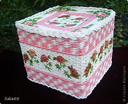 Мастер-класс, Поделка, изделие Плетение: копилочка Бумага газетная, Трубочки бумажные. Фото 1