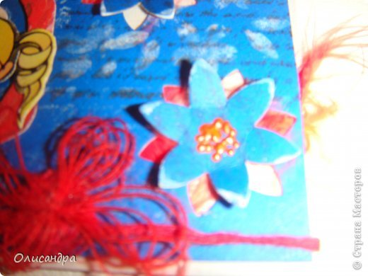 """МК по закладкам  <a href=""""http://scraphouse.ru/masterclass/flowers-and-decorations/beautiful-bookmarks-for-book.html"""" title=""""http://scraphouse.ru/masterclass/flowers-and-decorations/beautiful-bookmarks-for-book.html"""">http://scraphouse.ru/masterclass/flowers-and-decorations/beautiful-bookm...</a> А здесь закладки, сделанные ранее ... <a href=""""http://stranamasterov.ru/blog/34319/1484"""" title=""""http://stranamasterov.ru/blog/34319/1484"""">http://stranamasterov.ru/blog/34319/1484</a> ********************************************************************************************* Добрый день! Я ,в очередной раз, с закладками. В этот раз получилась """"Детская серия"""". Несмотря на то, что постепенно """"обрастаю"""" необходимыми материалами для скрапа, продолжаю использовать в своих работах и бросовый материал.  Не потому , что жаль расставаться с красивыми бумажками, просто хочется попробовать свои силы и сделать что-то симпатичное из того, что можно найти  в каждом доме. Использовала картон для детского творчества. Все фоны делала самостоятельно с помощью штампов и чернил. Пользовалась дыроколами и искала применение для стикеров. И вот , что получилось в итоге... . Фото 15"""