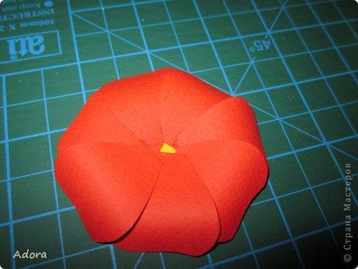 Мастер-класс: МК больших роз  Бумага Дебют. Фото 5