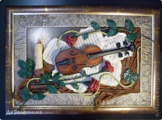 """Мастер-класс Коллаж: Картина из кожи.""""Скрипка и розы"""". Мастер-класс или этапы создания. Часть 1. Кожа Дебют. Фото 1"""