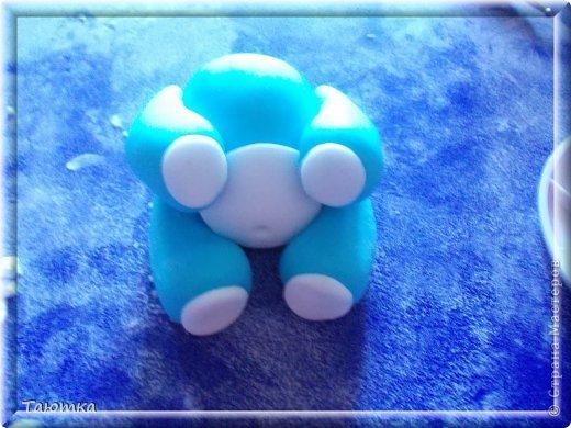 Мастер-класс Лепка: МК Мишка из мастики День рождения. Фото 10