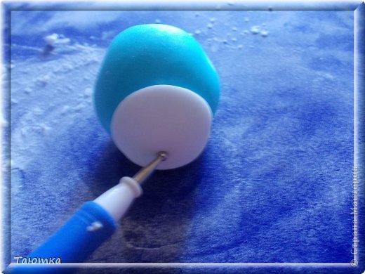 Мастер-класс Лепка: МК Мишка из мастики День рождения. Фото 7