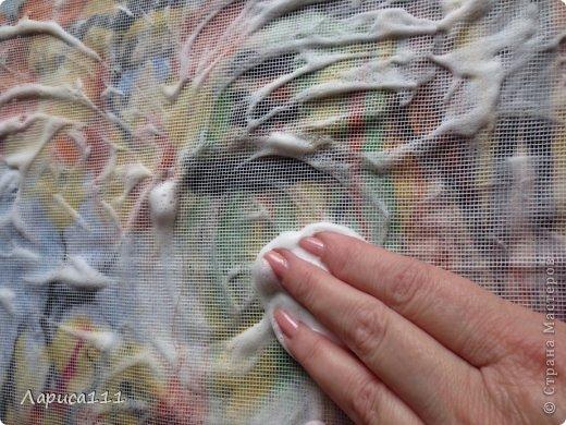 Картина, панно, рисунок, Мастер-класс Валяние (фильцевание): Валяние Шерсть Праздник осени. Фото 9