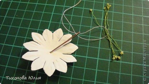 Мастер-класс: Как я делаю тычинки для цветов Нитки. Фото 8