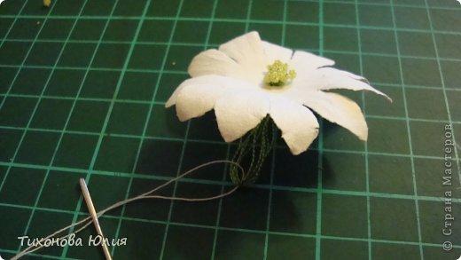 Мастер-класс: Как я делаю тычинки для цветов Нитки. Фото 9