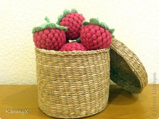 Мастер-класс Вязание крючком: Вязаная малина! Пряжа. Фото 1