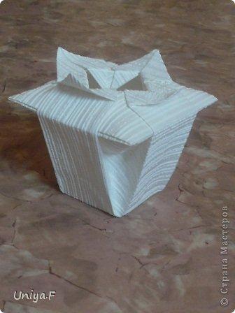Мастер-класс Оригами: Вазочка от Томоко Фусэ. Бумага. Фото 26