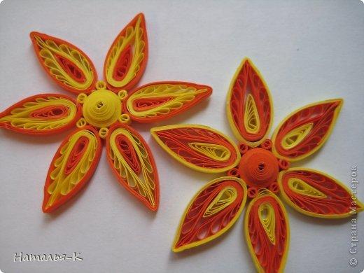 Мастер-класс Квиллинг: Листочки и цветочки на расчёске. Бумажные полосы. Фото 16