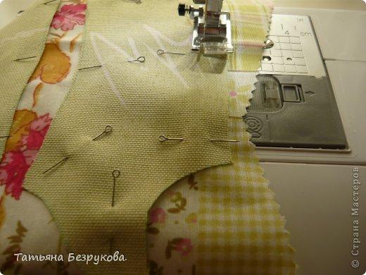Мастер-класс Шитьё: МК. Ботинки для куклы.  Ткань. Фото 5