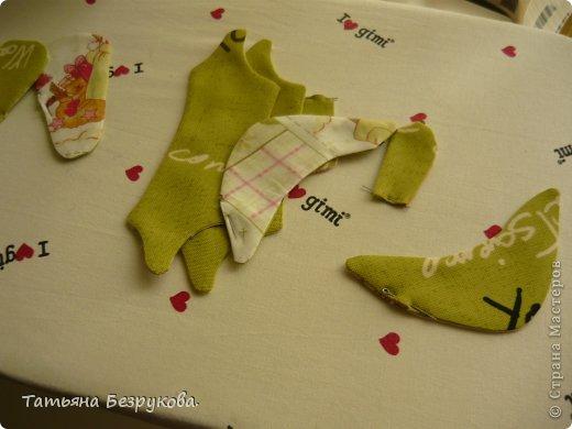 Мастер-класс Шитьё: МК. Ботинки для куклы.  Ткань. Фото 10