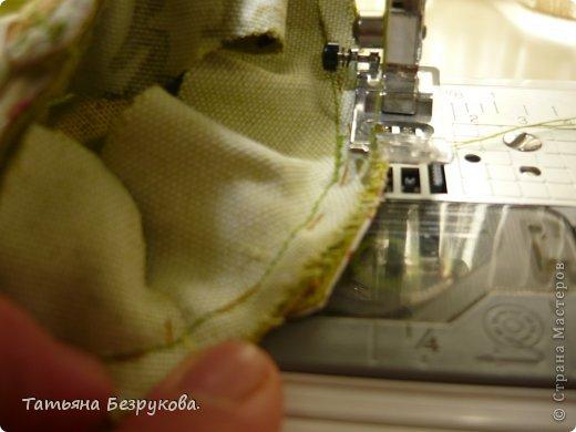 Мастер-класс Шитьё: МК. Ботинки для куклы.  Ткань. Фото 18