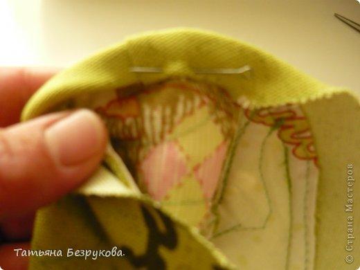 Мастер-класс Шитьё: МК. Ботинки для куклы.  Ткань. Фото 22