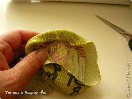 Мастер-класс Шитьё: МК. Ботинки для куклы.  Ткань. Фото 23