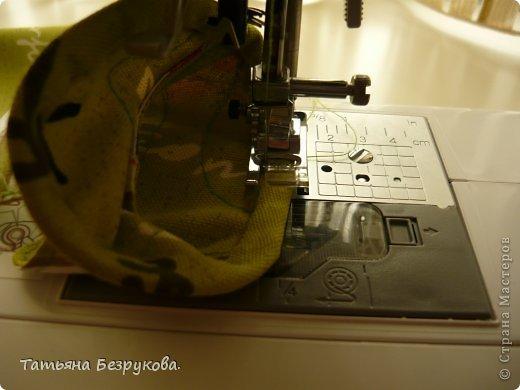 Мастер-класс Шитьё: МК. Ботинки для куклы.  Ткань. Фото 25