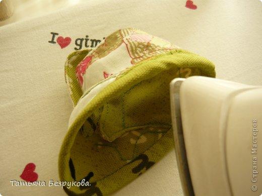 Мастер-класс Шитьё: МК. Ботинки для куклы.  Ткань. Фото 26