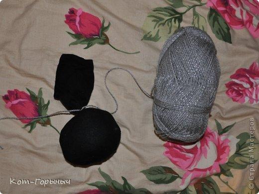 Мастер-класс, Поделка, изделие: Тыква из носка Нитки, Носки. Фото 4