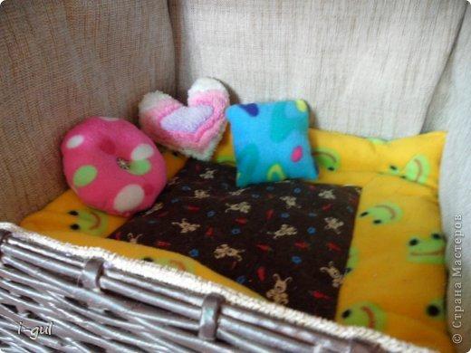 Мастер-класс Плетение: Домик для кошки Бумага газетная, Коробки, Ткань. Фото 11