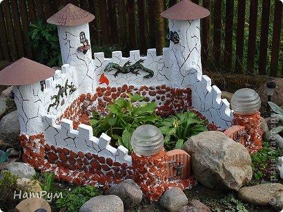 Поделка, изделие Лепка: Замок драконов(МК). Фото 1