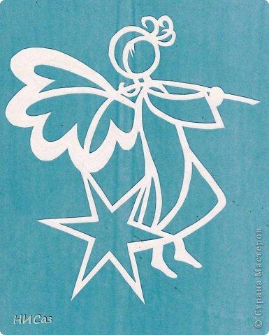 Картина, панно, рисунок Вырезание, Вытынанка: К Новому году... Бумага Новый год. Фото 7