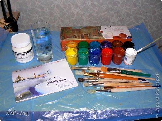 Картина, панно, рисунок, Мастер-класс Рисование и живопись: Ещё картинки в правополушарной технике + МК для  Гуашь. Фото 2