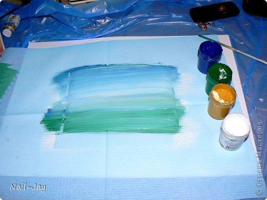Картина, панно, рисунок, Мастер-класс Рисование и живопись: Ещё картинки в правополушарной технике + МК для  Гуашь. Фото 5
