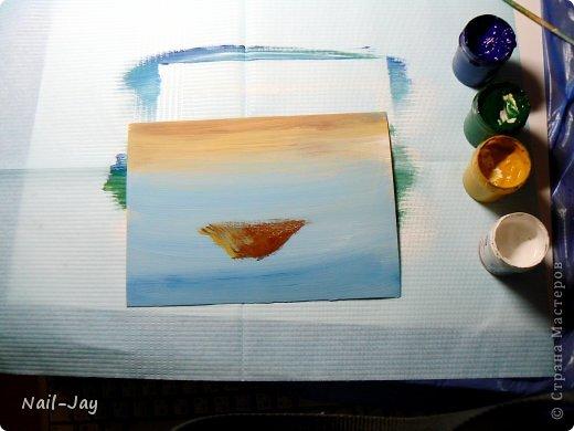 Картина, панно, рисунок, Мастер-класс Рисование и живопись: Ещё картинки в правополушарной технике + МК для  Гуашь. Фото 6