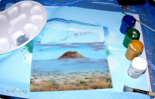 Картина, панно, рисунок, Мастер-класс Рисование и живопись: Ещё картинки в правополушарной технике + МК для  Гуашь. Фото 8