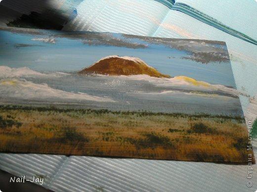 Картина, панно, рисунок, Мастер-класс Рисование и живопись: Ещё картинки в правополушарной технике + МК для  Гуашь. Фото 9
