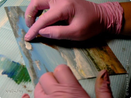 Картина, панно, рисунок, Мастер-класс Рисование и живопись: Ещё картинки в правополушарной технике + МК для  Гуашь. Фото 10