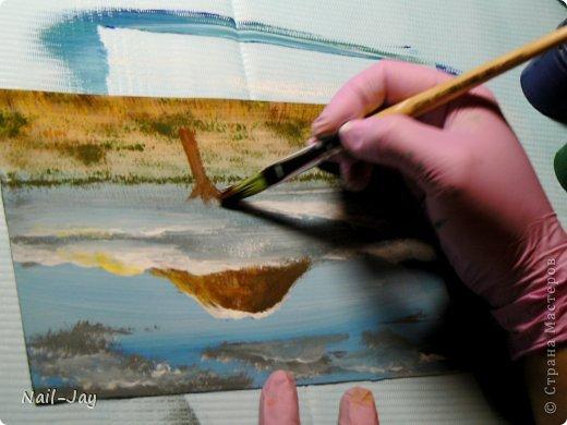 Картина, панно, рисунок, Мастер-класс Рисование и живопись: Ещё картинки в правополушарной технике + МК для  Гуашь. Фото 12