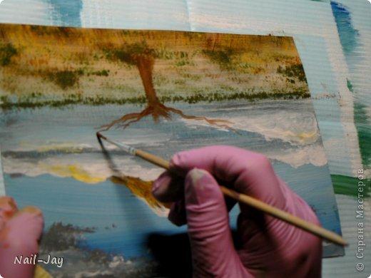 Картина, панно, рисунок, Мастер-класс Рисование и живопись: Ещё картинки в правополушарной технике + МК для  Гуашь. Фото 13